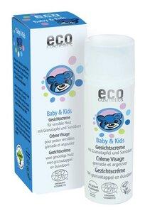 ECO Baby & Kids Gesichtscreme mit Granatapfel und Sanddorn - eco cosmetics