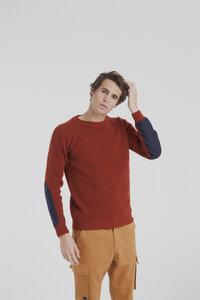 Strickpullover - Pureed Pumpkin Patched Sweater - Orange - thinking mu
