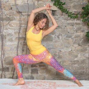 Yoga Legging rainbow - The Spirit of OM