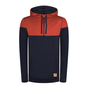 Mountain Active Lyocell (TENCEL) Hoody Red | Navy - bleed clothing GmbH