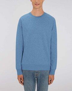 Basic Sweatshirt Herren meliert, Sweater, Pullover, (Bio&Recycelt) - YTWOO