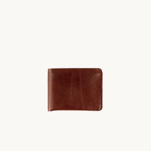 Cardholder 1 aus pflanzlich gegerbtem Leder - DUKTA
