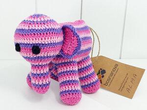 Babyrassel Elefant DUMBO - tolle Unikate - fair handgefertigt in Europa - bosnanova