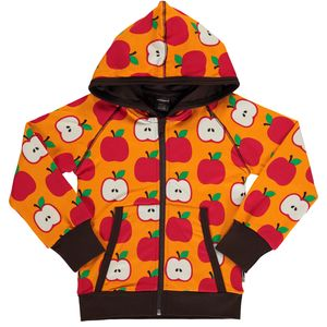 Maxomorra Cardigan Hoody classic apple - maxomorra