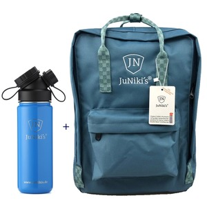 Promotion-Set: JuNiki´s Rucksack + JuNiki´s Trinkflasche 550ml - JN JuNiki's