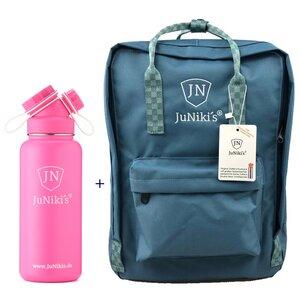 Promotion-Set: JuNiki´s Rucksack + JuNiki´s Trinkflasche 1 Liter - JN JuNiki's
