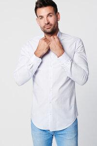 Nachhaltige Langarm Herren Hemd Blue Diamond Slim Fit 100% Bio - SKOT Fashion