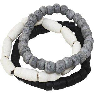 Upcycling - Manye Glasperlen Armband - 3er Set  - Global Mamas