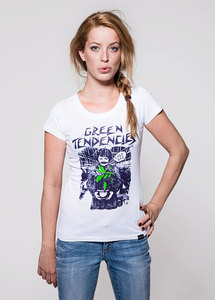 T-Shirt Green Tendencies - GREENALITY