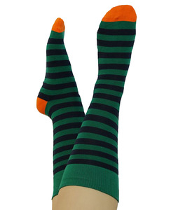 3 Paar Ringel Socken Bio-Baumwolle geringelt breit gestreift - Albero