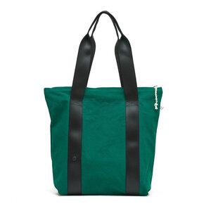 kısmet Shoppertasche mit Reißverschluss, Canvas Grün , upcycling&bio  - diejuju