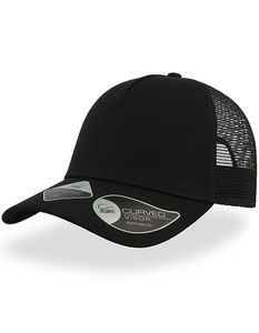 Atlantis Green Rapper Recycled Cap Mesh Rückseite 100% recycltes Polyester - Atlantis Headwear
