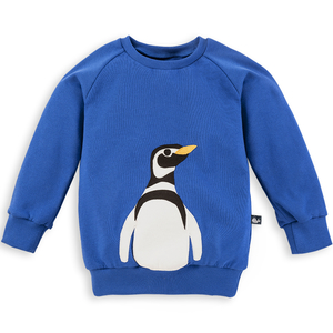 Pinguin Sweatshirt für Kinder - internaht