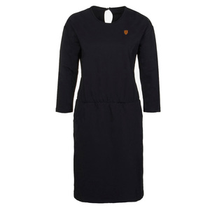 GREENBOMB Damen Langarm-Kleid Bio-Baumwolle - GreenBomb