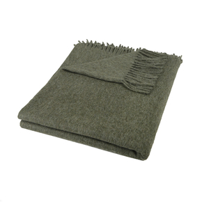Decke aus Alpakawolle - nandi