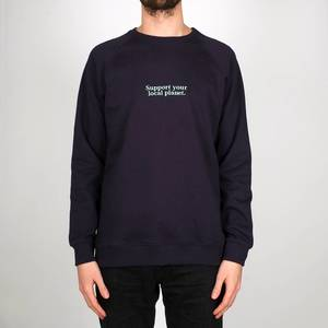 Sweatshirt Malmoe Planet Support - DEDICATED