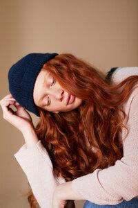 Damen Mütze - Alpaka Wolle  - Les Racines Du Ciel