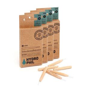 Interdentalbürsten Set - vier Größen - nachhaltig & BPA-frei - HYDROPHIL