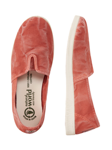 Vegan Damen Slipper washed - Camping Enzimatico  - natural world