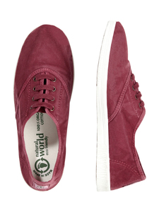 Vegan Damen Sneaker washed - Ingles Enzimatico  - natural world