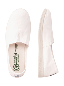 Vegan Damen Slipper - Camping Tintado  - natural world