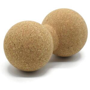 Massage Doppelball aus natürlichem Kork - SIYA