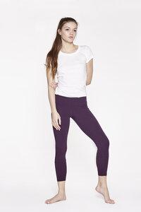 Yoga Leggings aus Bio-Baumwolle 7/8 Länge - YOIQI