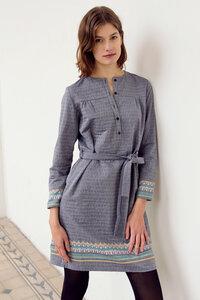 besticktes Kleid Linda aus Bio-Baumwolle - ME&MAY