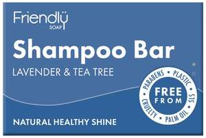 Friendly Soap festes Shampoo Lavendel & Tea Tree  - Friendly Soap