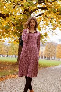 Midi-Kleid Daisy mit Paisleymuster - ME&MAY
