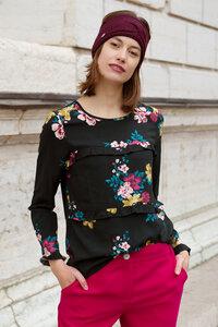 Bluse Anita mit floralen Viskoseprint - ME&MAY