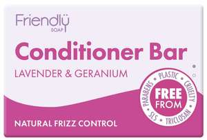 Friendly Soap fester Conditioner Haarconditioner Lavendel Geranie  - Friendly Soap