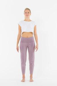 Yoga Leggings aus Bio-Baumwolle mit hohem Bund und weitem Bein - YOIQI