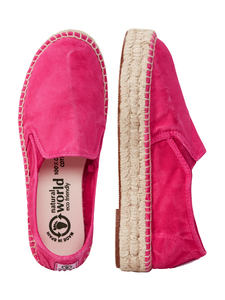 Vegan Damen Espadrilles washed - Ingles Yute Tintado Enzimatico - natural world