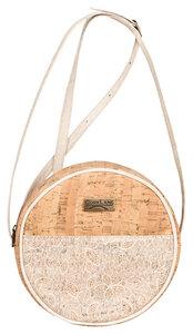 Runde Handtasche aus Kork - vegan - Corklane