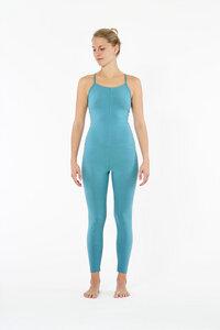 Yoga Einteiler Jumpsuit aus biologischer Baumwolle - YOIQI
