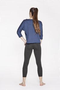 Sweater Pulli aus biologischer Baumwolle mit Y Logo - YOIQI