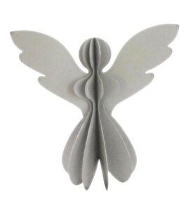 Papier-Engel silber mit Glitzer - Only Natural