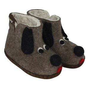 Hausschuhe - Baby Dogs Braun - mongs®