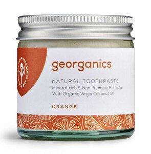 Georganics natürliche mineralhaltige Zahnpasta Orange  - Georganics