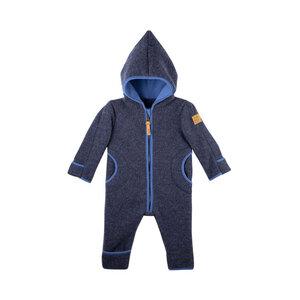 pure pure Baby und Kleinkind Overall Bio-Woll-Fleece - Pure-Pure