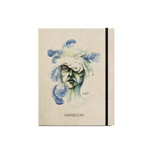 """Notizbuch Graspapier """"Blendend"""" (black/Carton) - Swiss Brochure - Matabooks"""