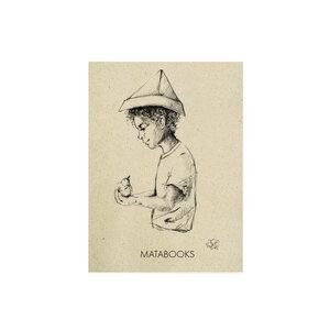 "Postkarte Graspapier - ""Fallenbird"" - Matabooks"