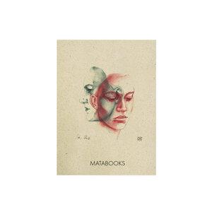 "Postkarte Graspapier - ""In thought"" - Matabooks"