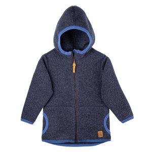pure pure Kinder Kapuzen-Jacke reine Wolle - Pure-Pure