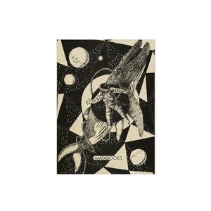 Postkarte Graspapier - 'Space miracle' - Matabooks