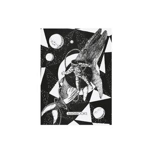 "Postkarte Graspapier - ""Space miracle"" - Matabooks"