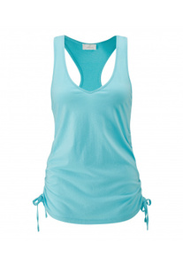 V-Neck Drap Top - Wellicious