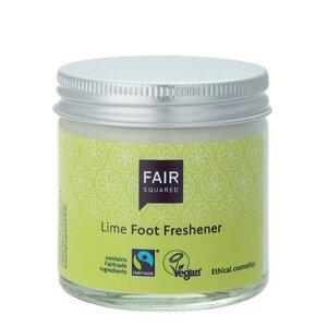 Fußcreme Limette im Glas - Fair Squared