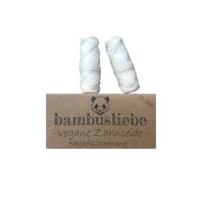 ✮ bambusliebe ✮ Vegane Zahnseide Nachfüllpack - 2x á 30 Meter - bambusliebe